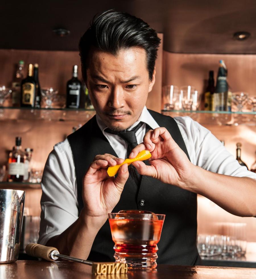 Bartender Shingo Gokan - đại diện tiêu biểu nhất của châu Á.