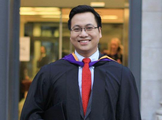 Ông Trần Quang Hưng, Phó bí thư Thành đoàn Hà Nội, đại diện Vinacapital Ventures