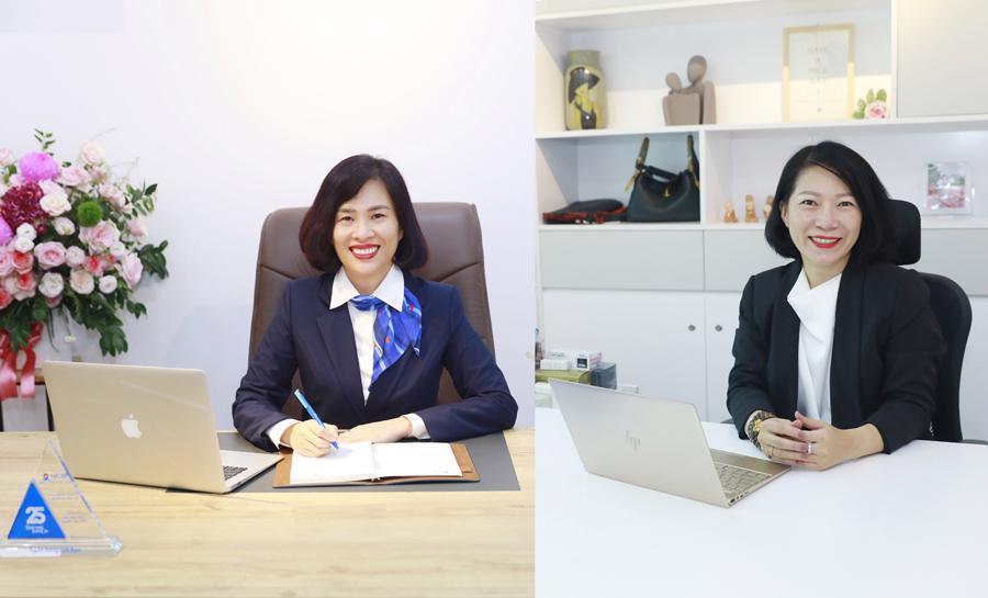 Bà Hoàng Thu Trang và bà Nguyễn Thị Thùy Dương được bổ nhiệm là Phó Tổng giám đốc NCB.