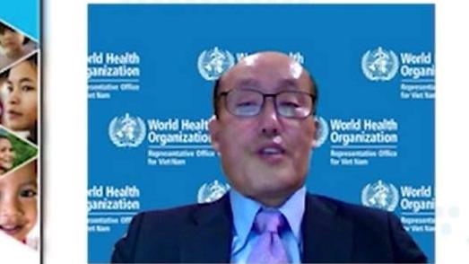 TS. Kidong Park, Trưởng đại diện Tổ chức Y tế Thế giới (WHO) tại Việt Nam