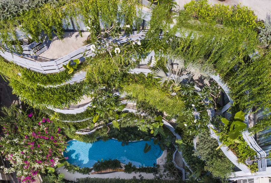 Một ốc đảo xanh cho kỳ nghỉ ngắn ngày ngay giữa lòng thành phố - Ảnh 5
