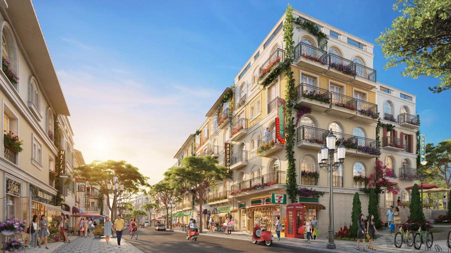 """The Center sẽ tạo nên """"mê cung"""" mua sắm, giải trí bất tận ở """"thị trấn Địa Trung Hải""""."""