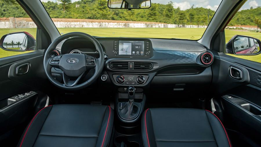 Hyundai Grand i10 2021 nội thất