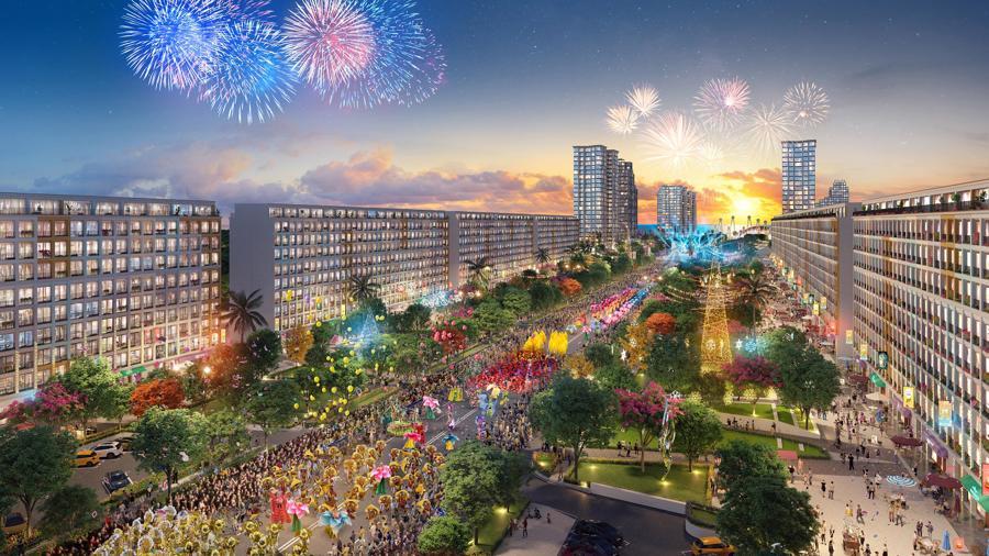 """Sun Grand Boulevard là dự án """"xông đất"""" Sầm Sơn của Sun Group."""