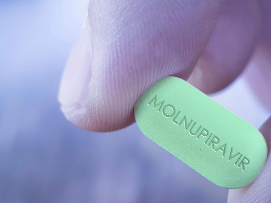 Molnupiravir cho hiệu quả 100% trong thử nghiệm giai đoạn 1 và 2 - Ảnh: Shutterstock