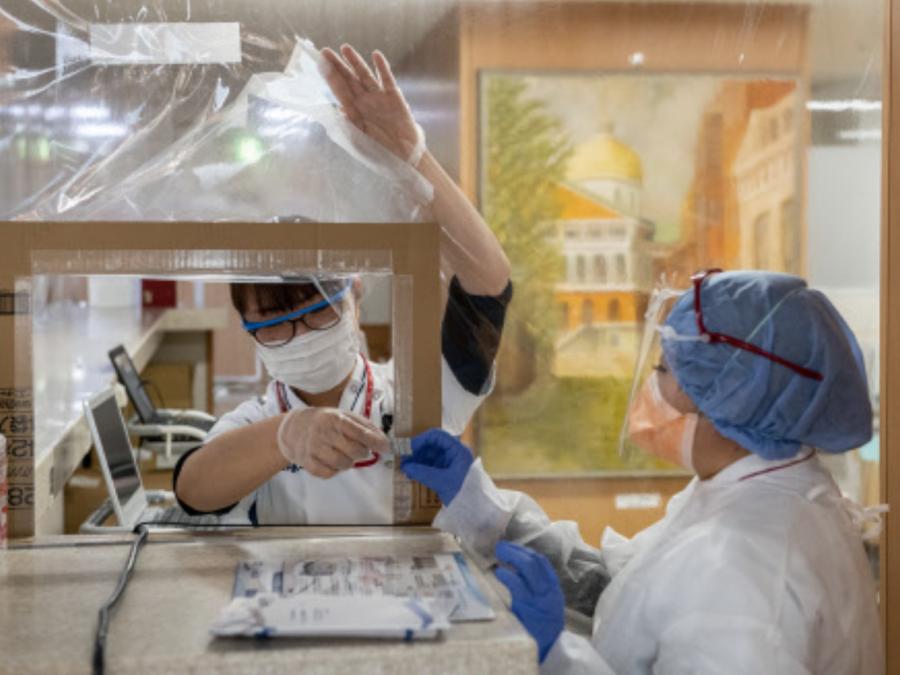 Nhật Bản trở thành quốc gia đầu tiên trên thế giới cấp phép thuốc kháng thể Ronapreve để điều trị cho bệnh nhân Covid-19 - Ảnh: