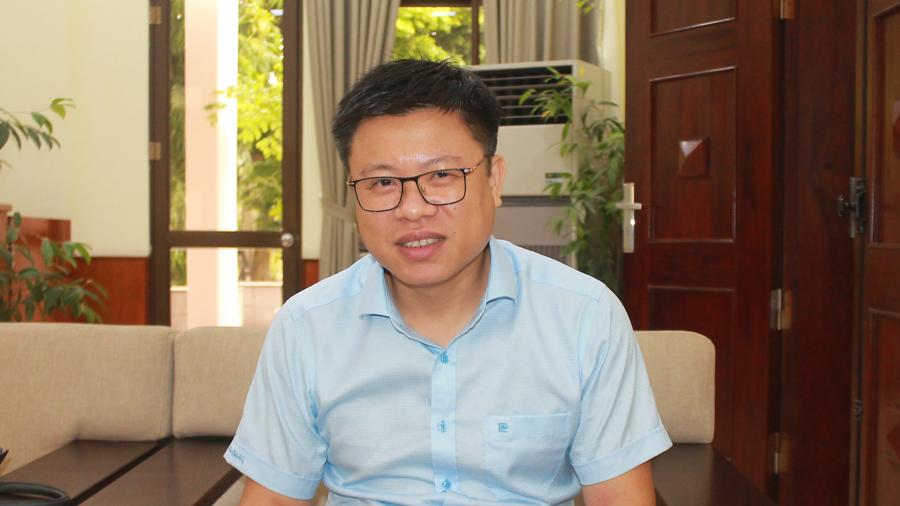 Ông Nguyễn Quốc Toản Cục trưởng Cục Chế biến và Phát triển thị trường nông sản