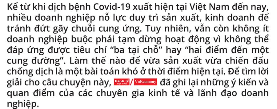 Giảm nỗi lo đứt gãy chuỗi cung ứng vì Covid-19 - Ảnh 2