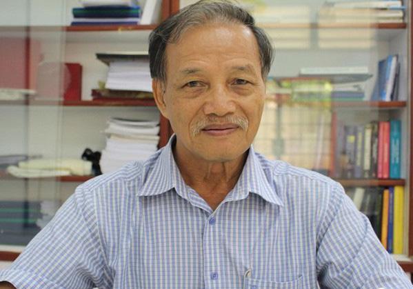 Chuyên gia hàng không Nguyễn Thiện Tống.