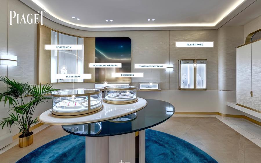 Không gian ảo với cái nhìn toàn cảnh 360 độ với đầy đủ thông tin vềnghệ thuật chế tác đồng hồ và trang sức xa xỉ.