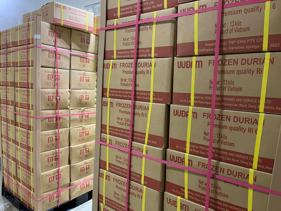 Thương vụ Việt Nam tại Australia đã làm việc với một loạt doanh nghiệp nhập khẩu lớn để tiếp tục nhập khẩu thêm sầu riêng và nông sản trong tháng 8.