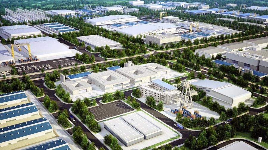 Tổ hợp nghiên cứu - chế tạo phục vụ ngành sản xuất Ô tô và điện tử sẽ là điểm nhấn phát triển của thành phố Bỉm Sơn giai đoạn 2021-2025.