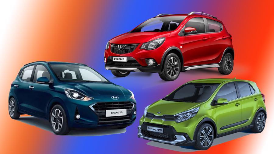 So sánh Hyundai Grand i10 2021 mới, VinFast Fadil và Kia Morning
