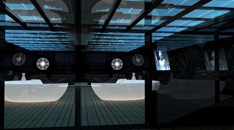 Siêu du thuyền Thiên Nga Đen như bước ra từ thế giới viễn tưởng - Ảnh 3