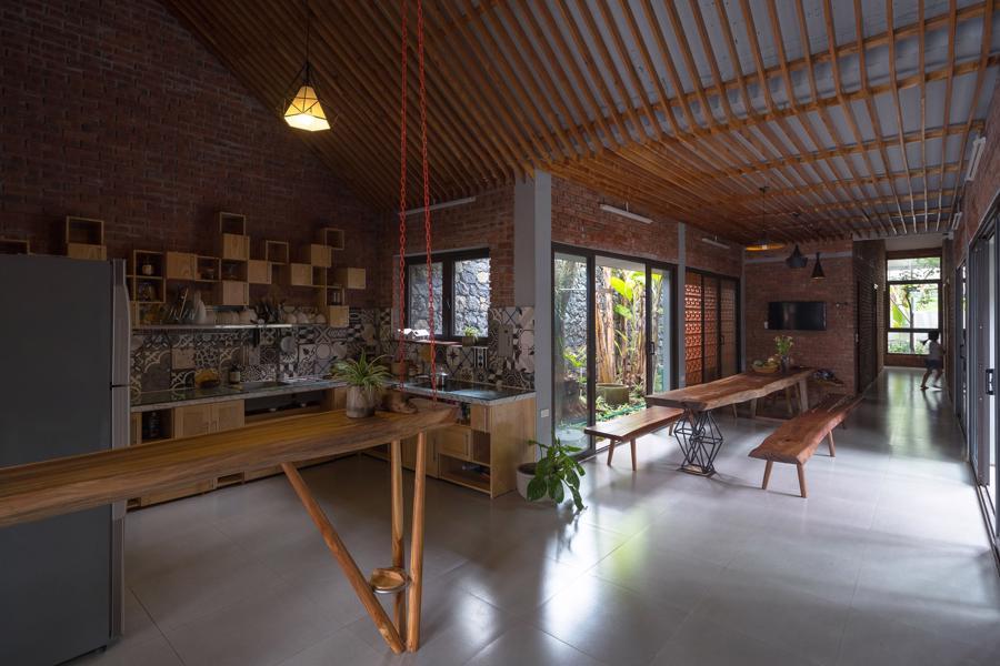 Ngôi nhà gạch độc đáo tại Sơn La được lên tạp chí nước ngoài - Ảnh 5