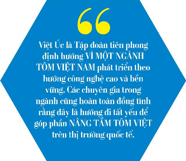 Tập đoàn Việt Úc: 20 năm phát triển ngành tôm công nghệ cao - Ảnh 5