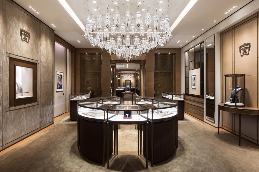Một showroom thực tế ảo của hãng trang sức xa xỉCartier.