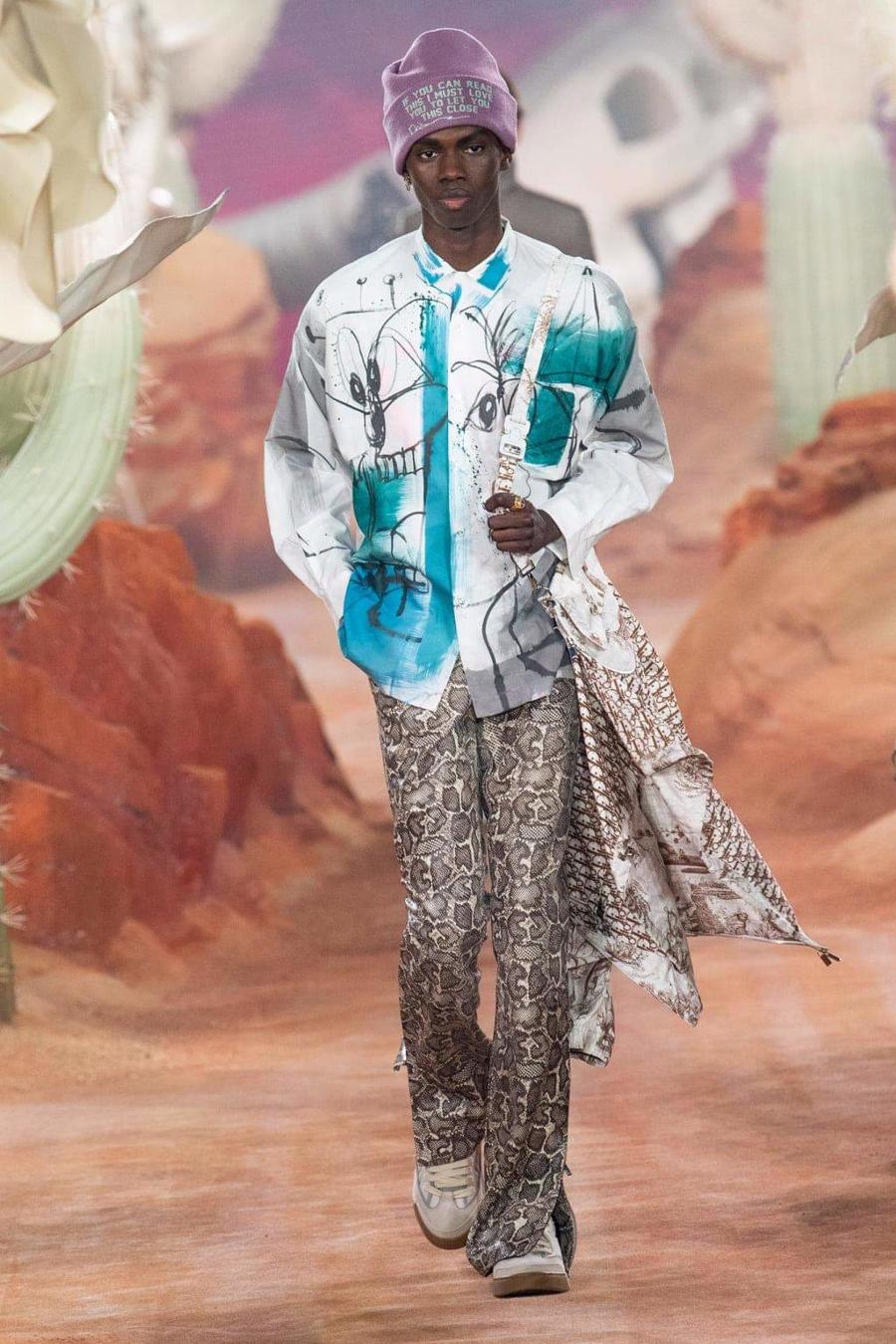 Dior Menswear Xuân Hè 2022: Những anh chàng hip hop lịch lãm - Ảnh 17