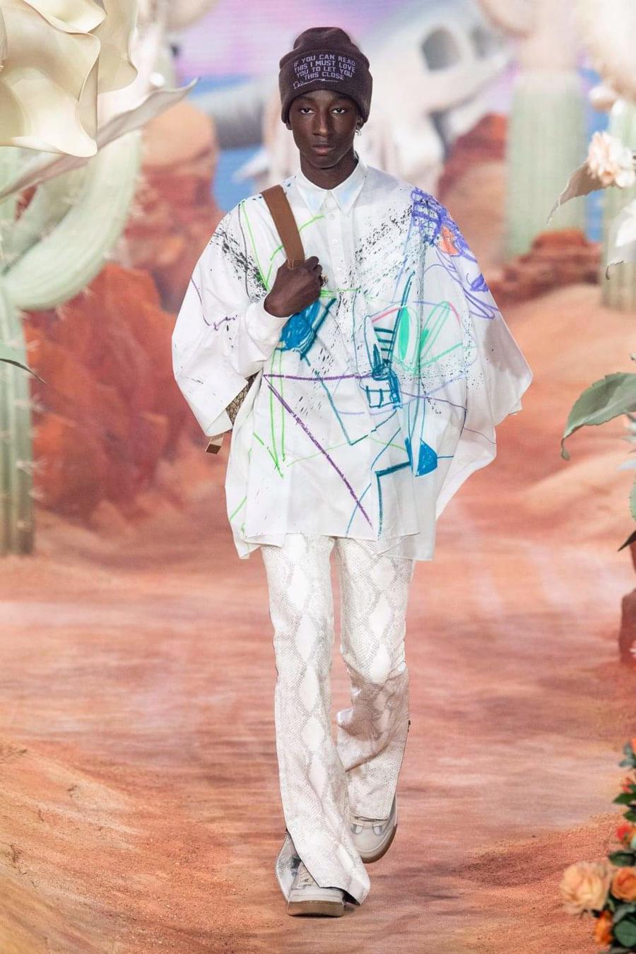 Dior Menswear Xuân Hè 2022: Những anh chàng hip hop lịch lãm - Ảnh 20