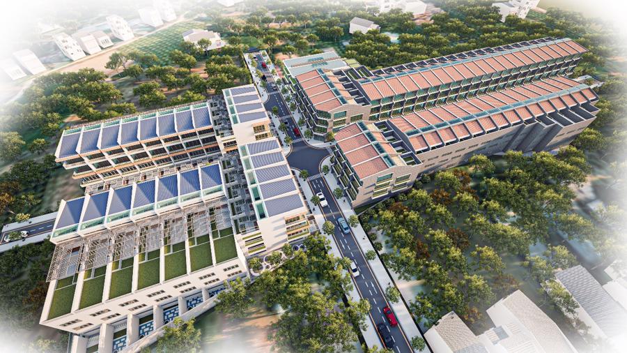 Phối cảnh Nam An Ecotown Phan Thiết - Dự án đang hút giới đầu tư Miền Bắc