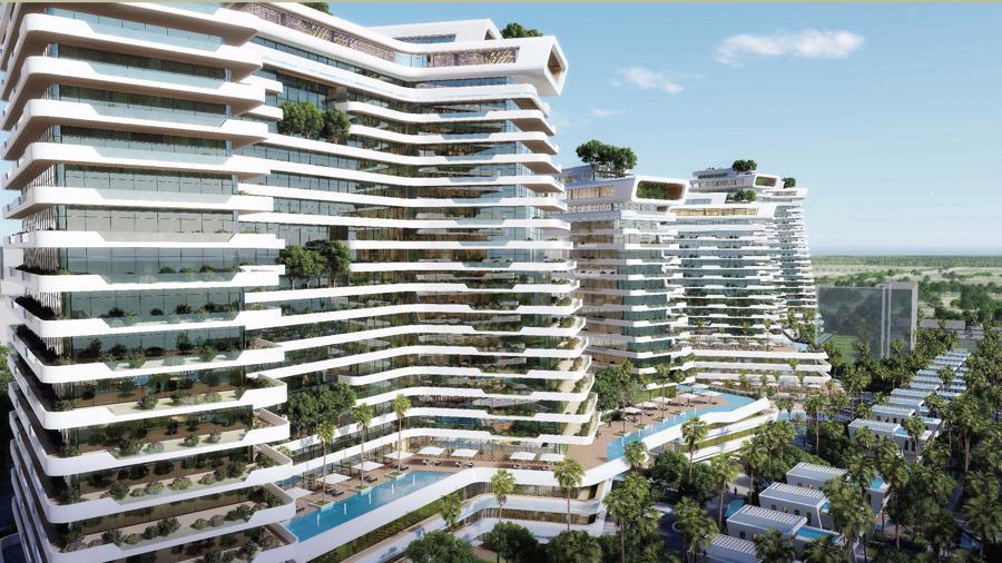 Tòa cao ốc khách sạn và căn hộ với thiết kế đột phá tại Sunshine Heritage Đà Nẵng I.