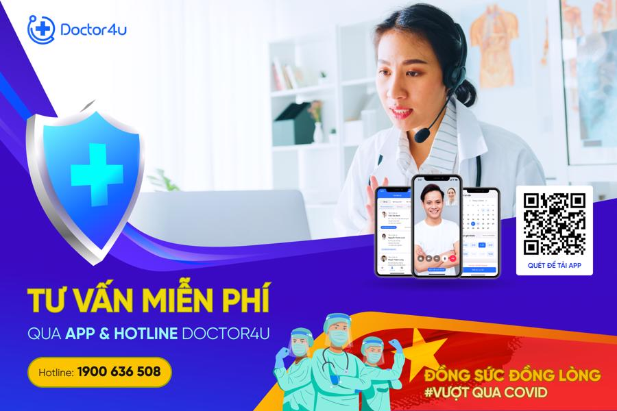 Doctor4U offers free consultations from doctors from July 22 to September 22.