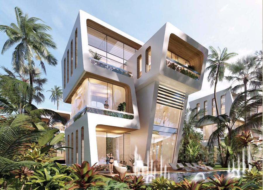 Biệt thự dòng Heritage do Sunshine Homes phát triển.