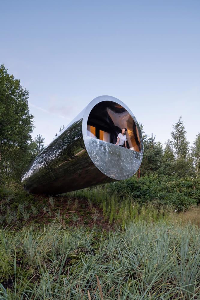 Ngôi nhà trong ống thép gây chú ý tại lễ hội kiến trúc – điêu khắc Nga - Ảnh 5