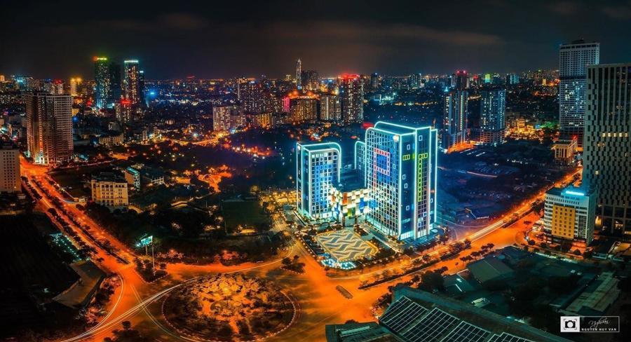 Toà nhà FPT Tower tại Hà Nội.
