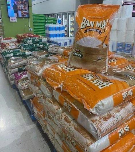 Gạo Ban Mai tại hệ thống siêu thị MCQ thuộc bang Tây Australia
