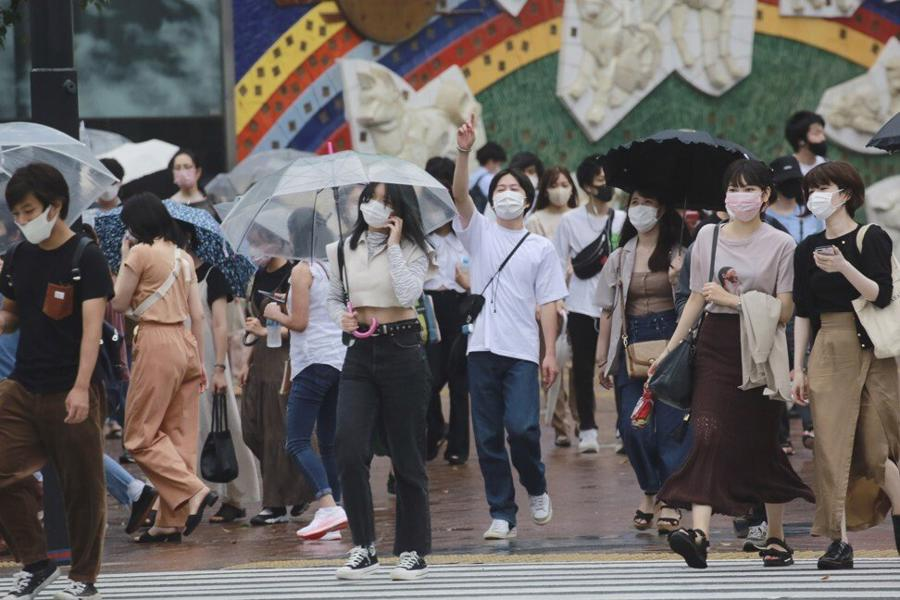Nhật Bản đối mặt làn sóng lây nhiễm Covid-19 kỷ lục trước thềm Thế vận hội người khuyết tật - Ảnh: AP