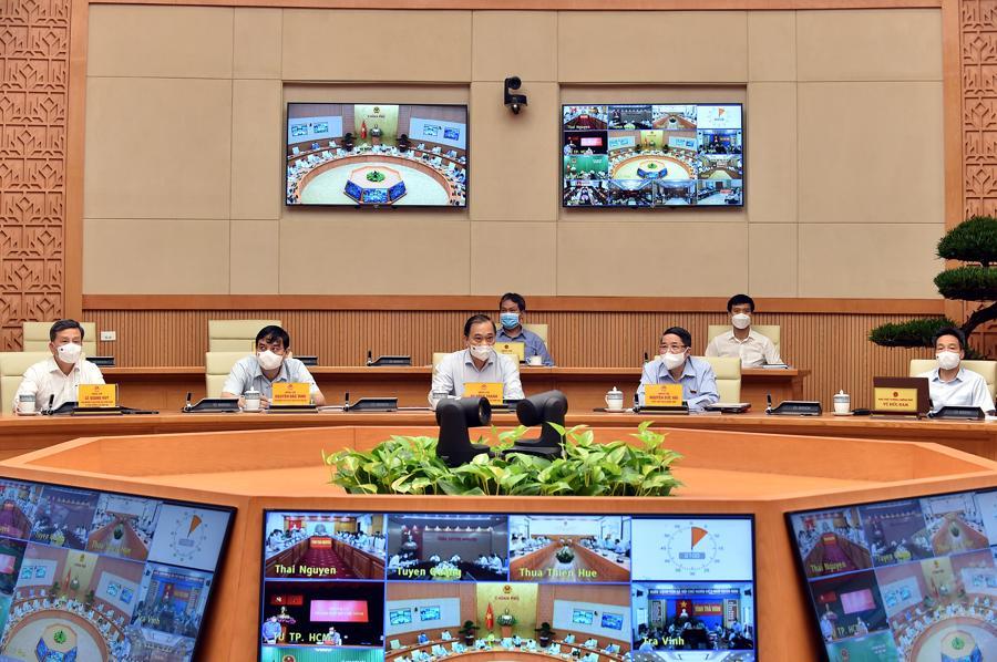 Các đại biểu tham dự Hội nghị - Ảnh: VGP/Nhật Bắc.