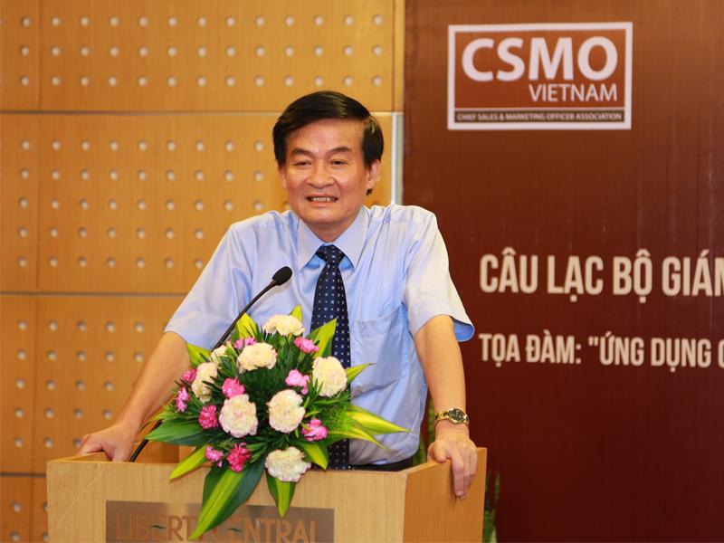 TS. Hàn Mạnh Tiến, Chủ tịch Hội các Nhà quản trị doanh nghiệp Việt Nam (VACD).