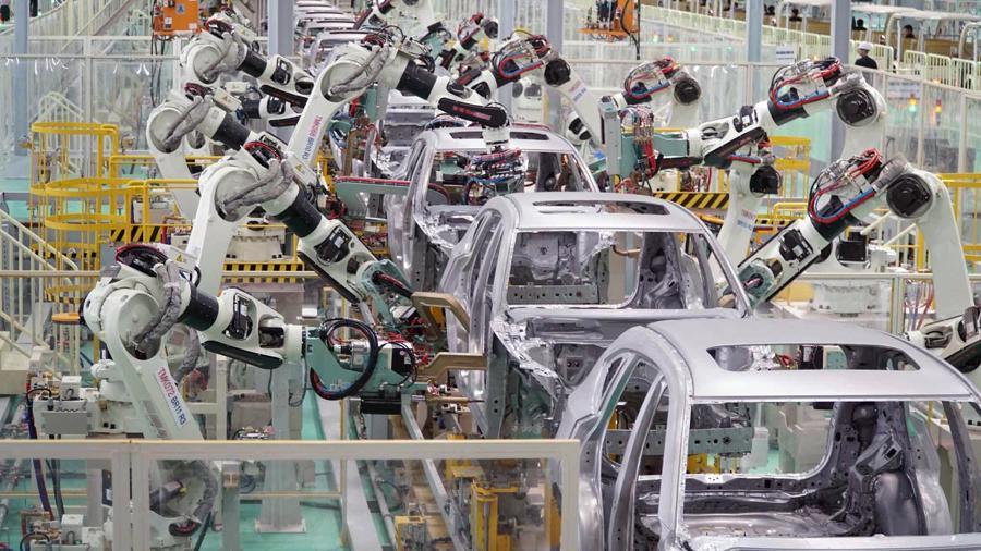 nhà máy THaco Mazda