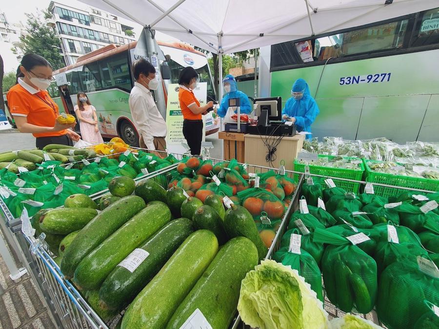 Mô hình bán hàng lưu động trên xe buýt đã rất thành công ở TP.HCM, Nha Trang...