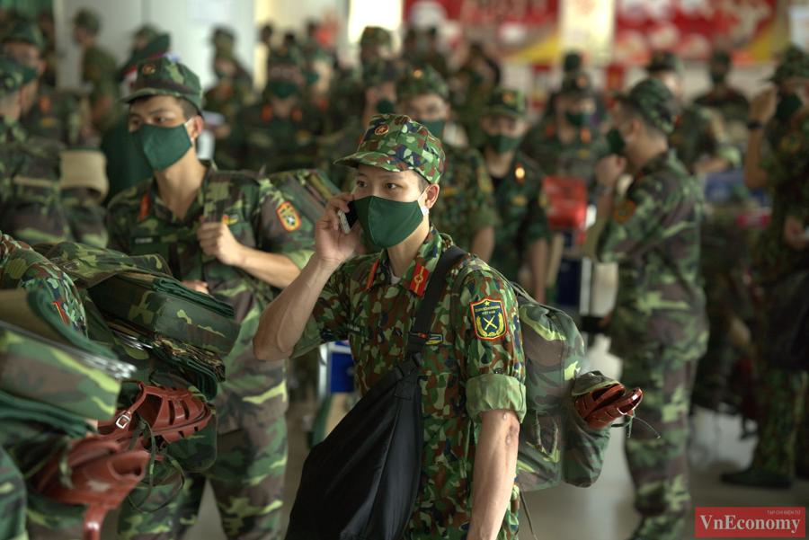 Đoàn quân y hối hả lên đường chi viện miền Nam chống dịch - Ảnh 6
