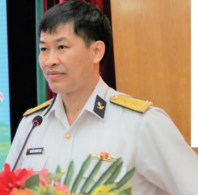 Trung tá Nguyễn Phương Nam, Phó Tổng giám đốc Tổng công ty Tân Cảng Sài Gòn