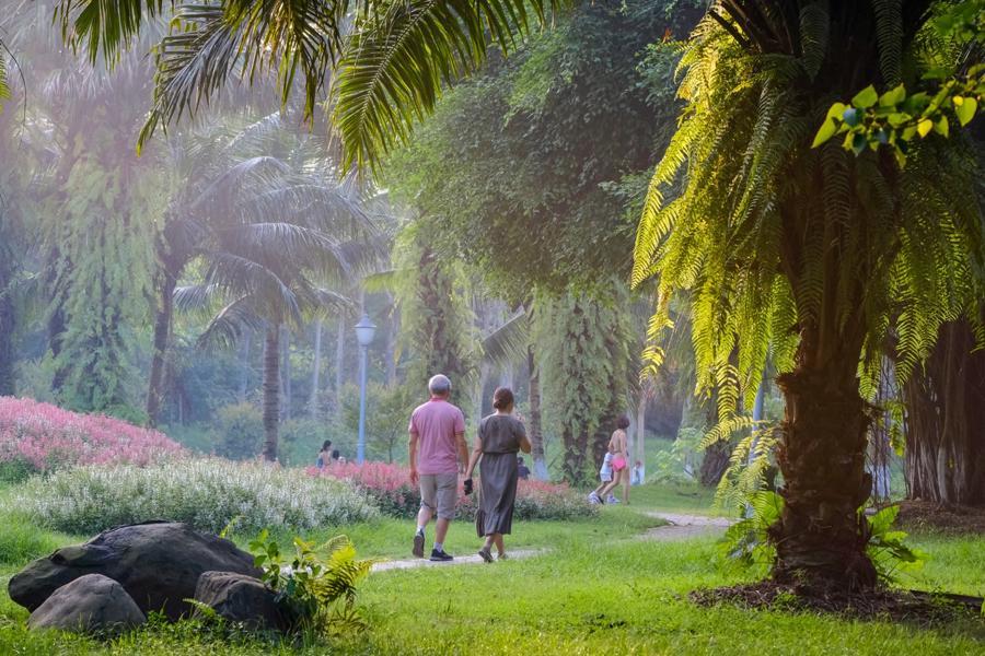 Ecopark gây sốt khi sở hữu không gian bình yên trong mùa dịch.