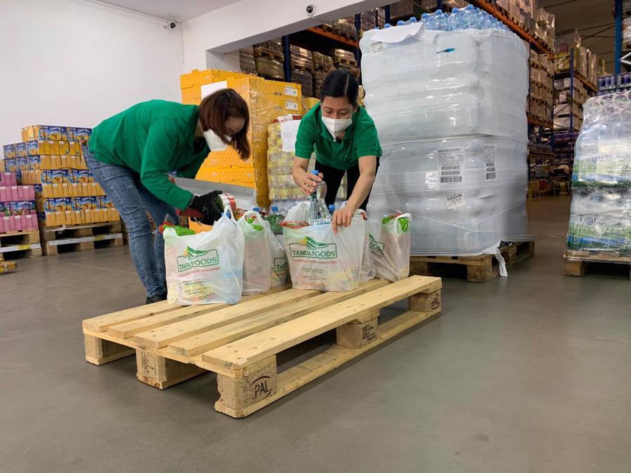 Tamda Foods đáp ứng được nhu cầu cung ứng hàng hóa cho hệ thống cửa hàng rộng khắp mọi nơi của người Việt trên đất Czech.