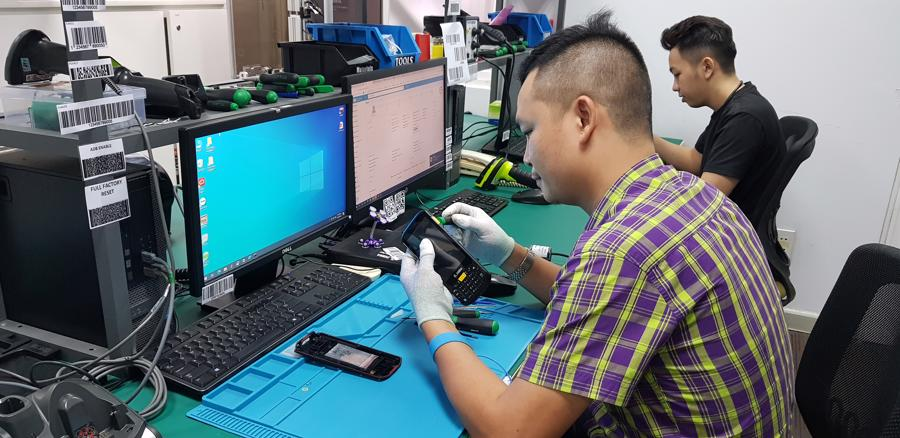 Trung tâm dịch vụ bảo hành Zebra Technologies tại Việt Nam.