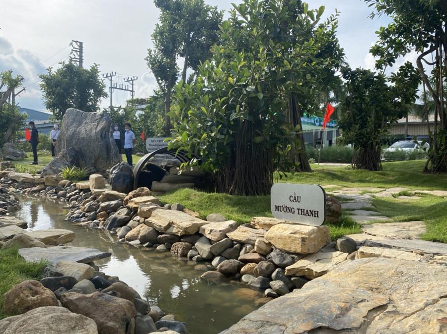 """Công ty CP Shinec tiên phong tạo nên những """"khoảng xanh - công viên xanh"""" đầy ý nghĩa giữa lòng khu công nghiệp."""
