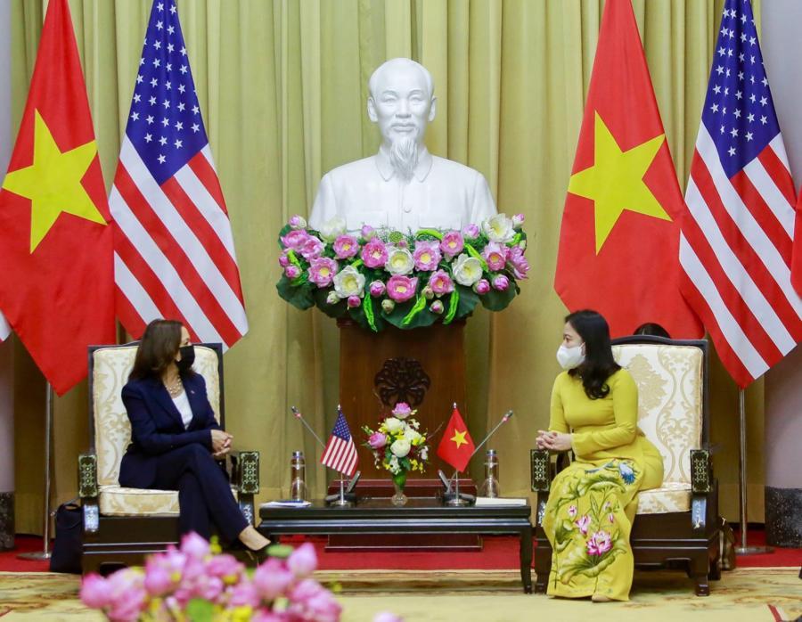 """Nhà Trắng: """"Chuyến công du của Phó Tổng thống thể hiện cam kết sâu sắc của Mỹ với Việt Nam"""" - Ảnh 1"""