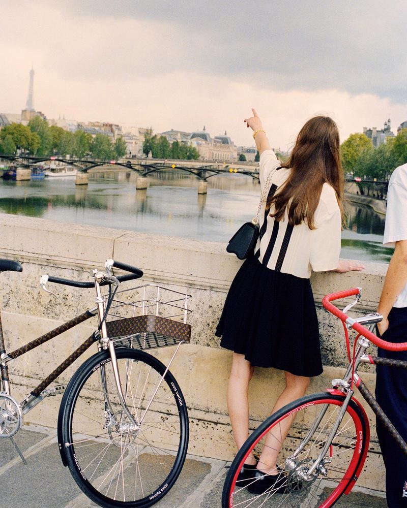 Louis Vuitton ra mắt mẫu xe đạp dạo phố dành cho giới nhà giàu - Ảnh 1