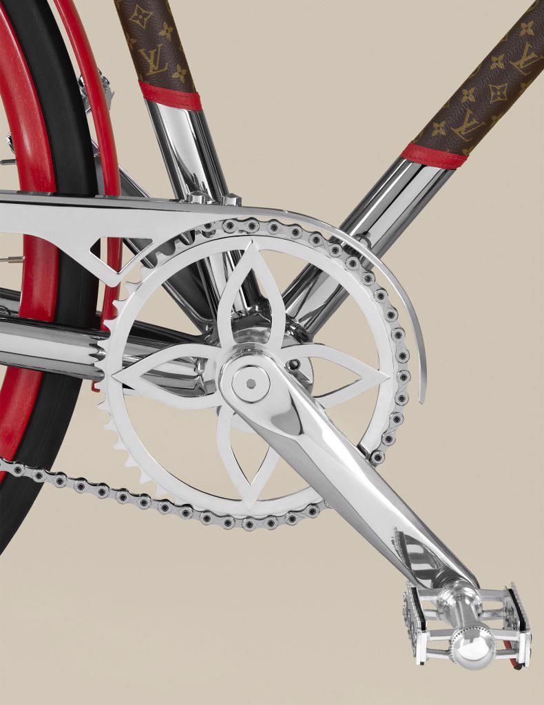 Louis Vuitton ra mắt mẫu xe đạp dạo phố dành cho giới nhà giàu - Ảnh 7