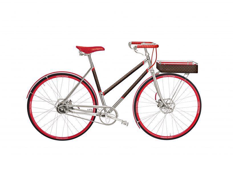 Louis Vuitton ra mắt mẫu xe đạp dạo phố dành cho giới nhà giàu - Ảnh 6