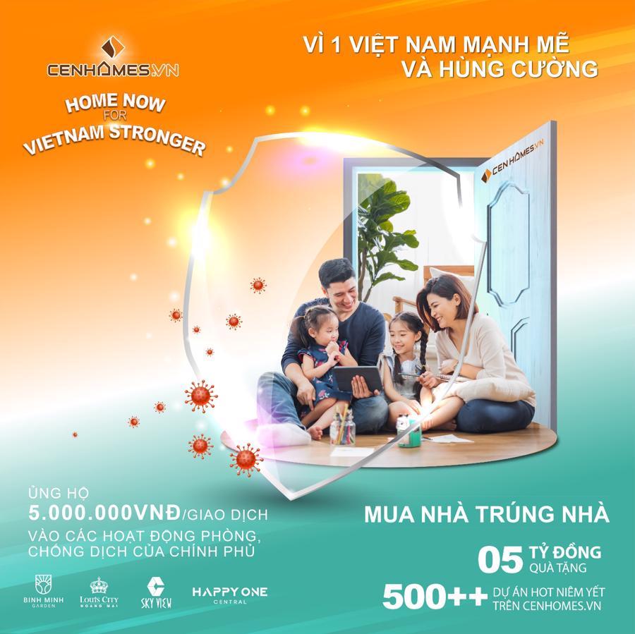 """""""Home now for Vietnam Stronger"""" mang tới cơ hội sở hữu nhà cho hàng ngàn gia đình."""