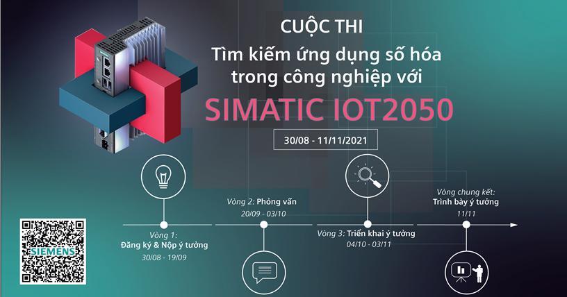 Khởi động cuộc thi số hóa trong công nghiệp SIMATIC IOT2050 - Ảnh 1