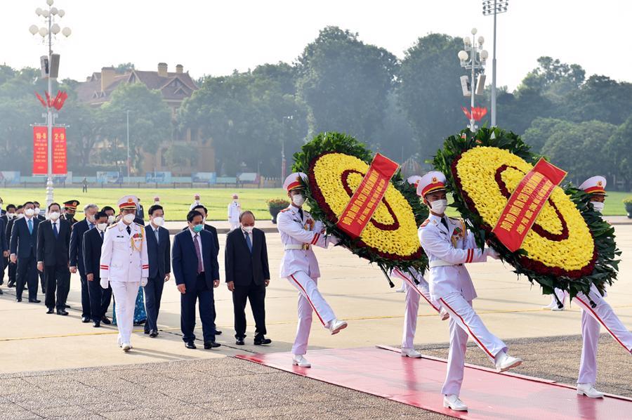 """Thủ tướng: """"Việt Nam cam kết quyết tâm cao nhất cùng cộng đồng quốc tế đẩy lùi dịch bệnh, khôi phục kinh tế"""" - Ảnh 3"""