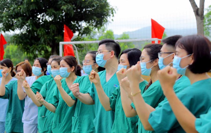 Chính phủ đang tập hợp mọi sức mạnh của cả cộng đồng dân tộc quyết đầy lùi dịch bệnh ở TP Hồ Chí Minh và các tỉnh phía Nam...
