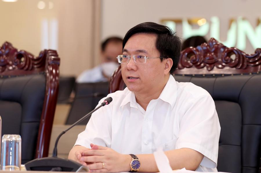 Thứ trưởng Trần Duy Đông phát biểu kết luận tại Hội nghị.